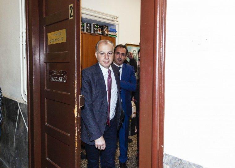 """Ο υποψήφιος δήμαρχος Ρόδου Αντώνης Καμπουράκης κατέθεσε στο Πρωτοδικείο Ρόδου το Συνδυασμό """"Με Δύναμη Για τη Ρόδο""""."""