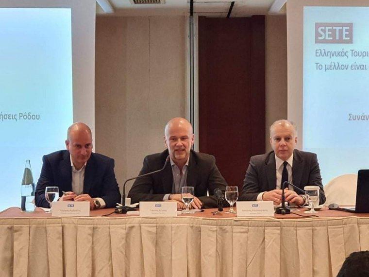 Ομιλία Δημάρχου Ρόδου Αντώνη Καμπουράκη στη συνάντηση εργασίας του ΣΕΤΕ στη Ρόδο