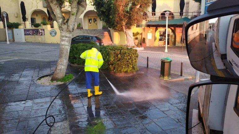 Προληπτικοί καθαρισμοί και απολύμανση  των κοινοχρήστων χώρων