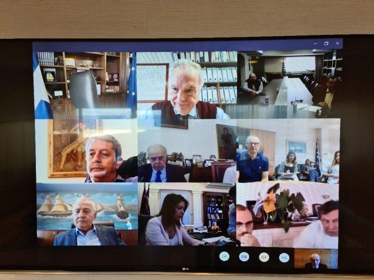 Τηλεδιάσκεψη δημάρχων με την Ένωση Κρουαζιεροπλοίων και Φορέων Ναυτιλίας