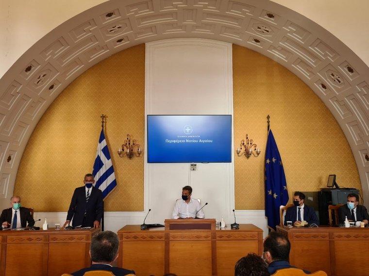 Ομιλία Δημάρχου Ρόδου Αντώνη Καμπουράκη στην σύσκεψη με τον Πρωθυπουργό Κυριάκο Μητσοτάκη