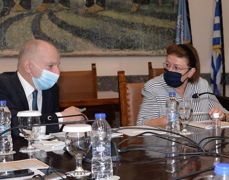 Συνάντηση με την Υπουργό Πολιτισμού Λίνα Μενδώνη