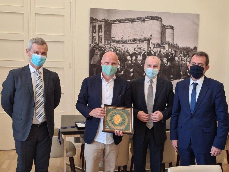 Συνάντηση με τον νέο Πρέσβη της Φινλανδίας στην Ελλάδα, Jari Boris Antero Gustafsson
