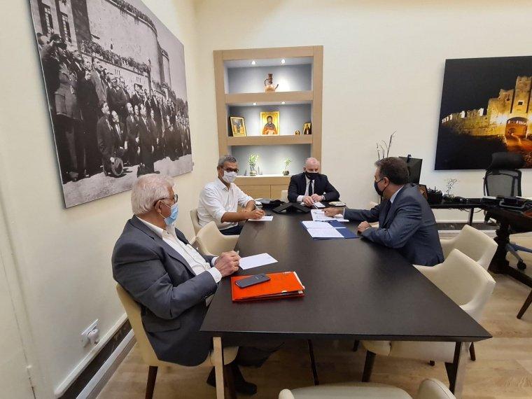 Συνάντηση με τον Υφυπουργό Τουρισμού και Βουλευτή Δωδεκανήσου Μάνο Κόνσολα