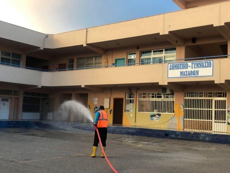 Πλήρης απολύμανση στα Σχολεία στα Μάσσαρη