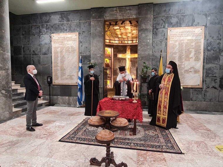 Δέηση προς τιμή του εορταζόμενου Αγίου Νεομάρτυρος Κωνσταντίνου του Υδραίου, Πολιούχου και Προστάτη της Πόλεως Ρόδου