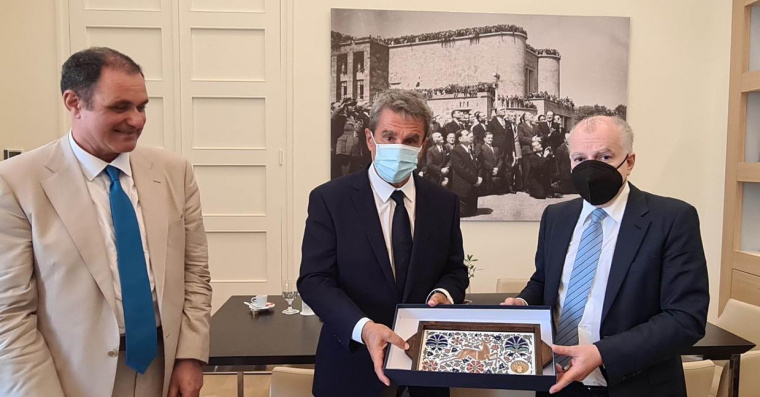 Συνάντηση με τον Βουλευτή κ. Ανδρέα Λοβέρδο