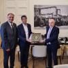 Υποδοχή του Γάλλου Πρέσβη στην Ελλάδα Patrick Maisonnave